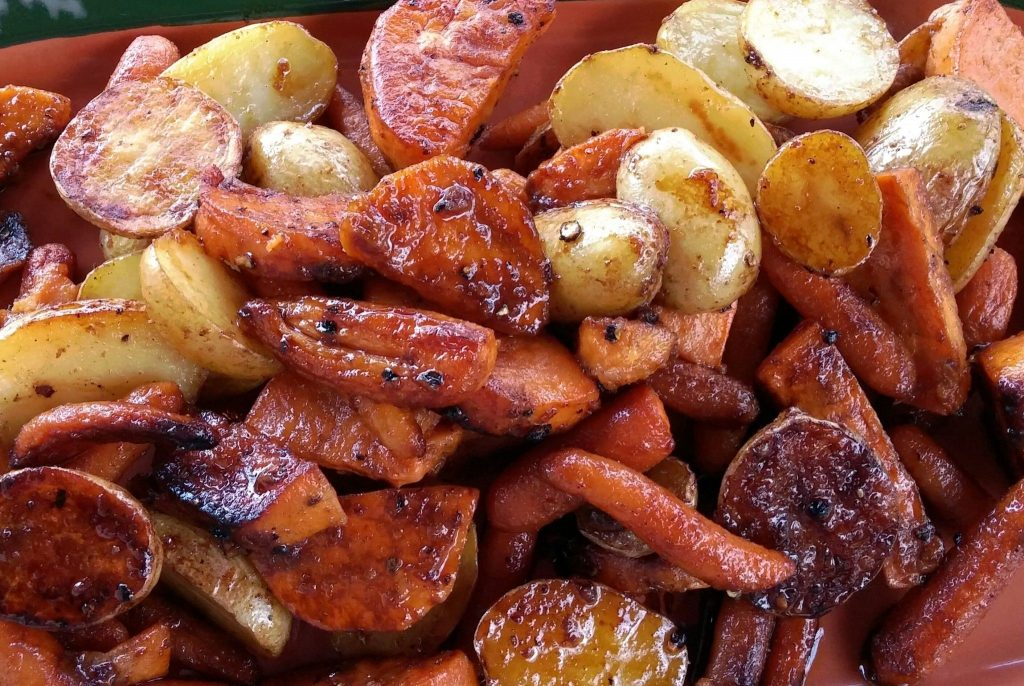 Charbroiled Sweet Potatoes
